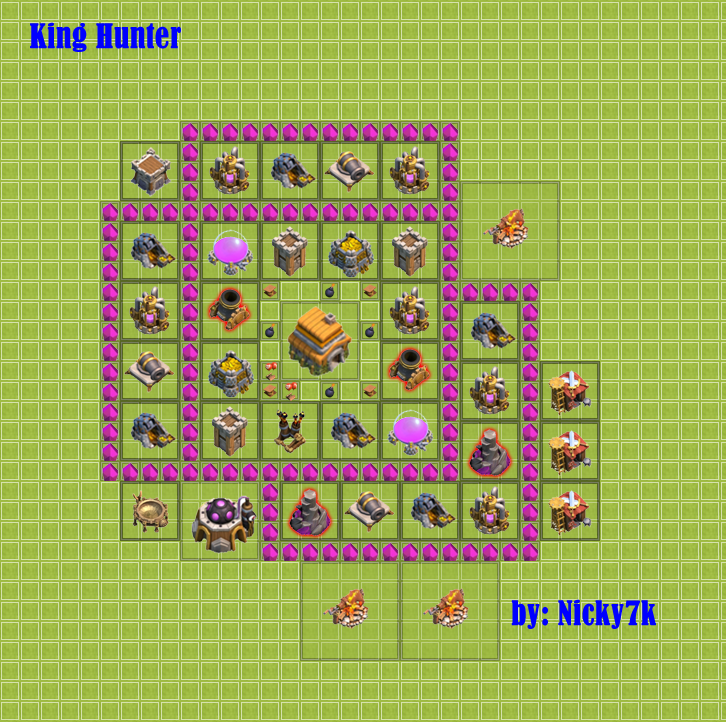 Wall Design For Town Hall 6 : Town hall eternity kings
